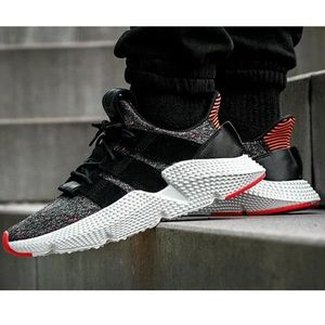 Adidas Prophere Casual Sneaker Primeknit Black Red